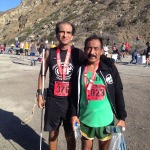 Post-race with my friend and guide, Angel Santiago.